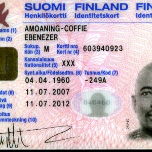 Finland ID Card for Sale Online