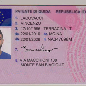 Buy Italian Drivers License Online