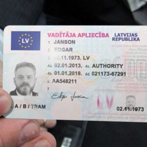 Latvia Drivers License for Sale Online