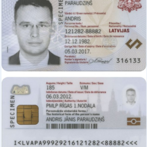 Latvia National Identity Card for Sale