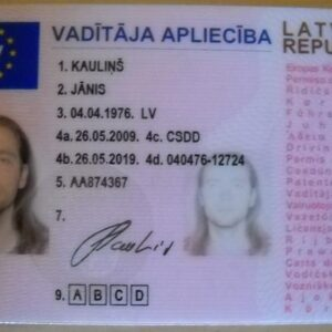 Lithuania Drivers License for Sale Online