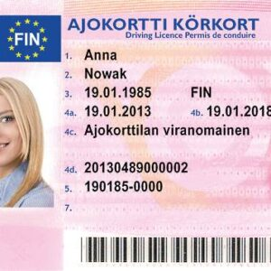 Finland Driving License for Sale Online