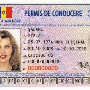 Moldavian Driving License for Sale