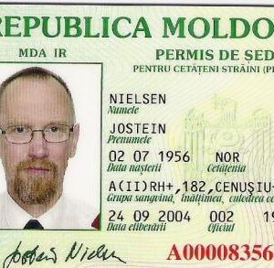 Moldavian National Identity Card for Sale