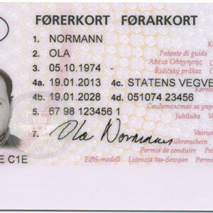 Buy Norwegian Drivers License