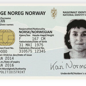 Norwegian ID Card for Sale Online